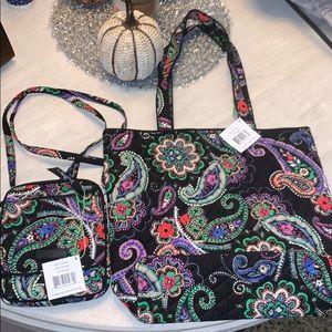 Vera Bradley mini purse and tote